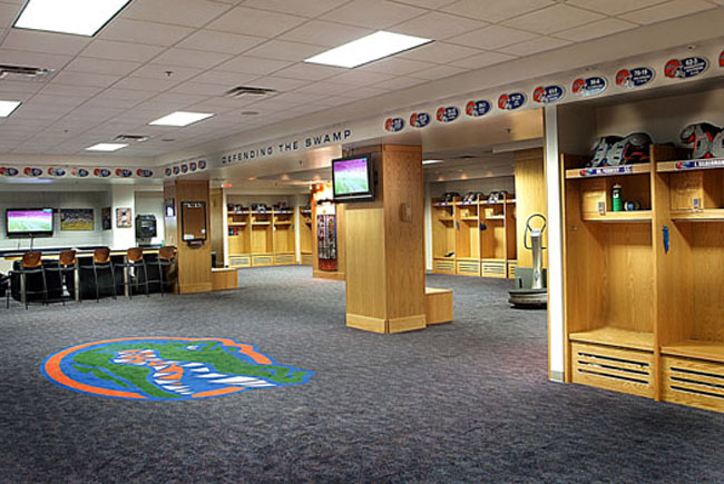 Florida State Locker Room