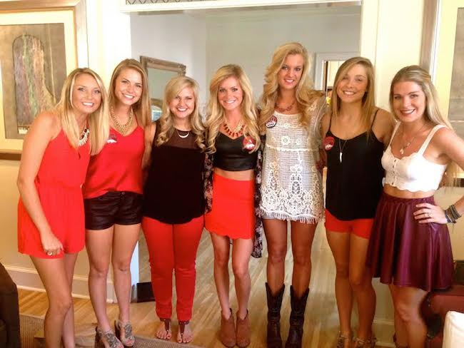 Southern Belles The Girls Of Gameday