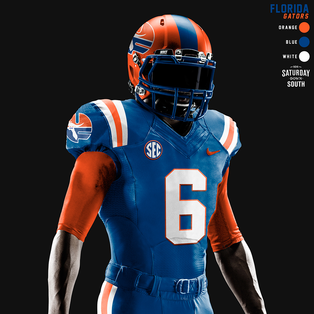 Black Florida Gators Football Jersey