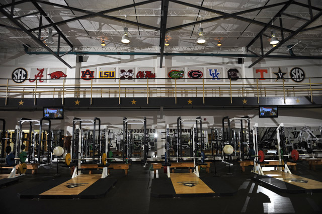 Photo By Joe Howell 13114olympicweightroom640