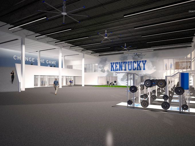 A Look Inside The SECs Weight Rooms - Weight room design
