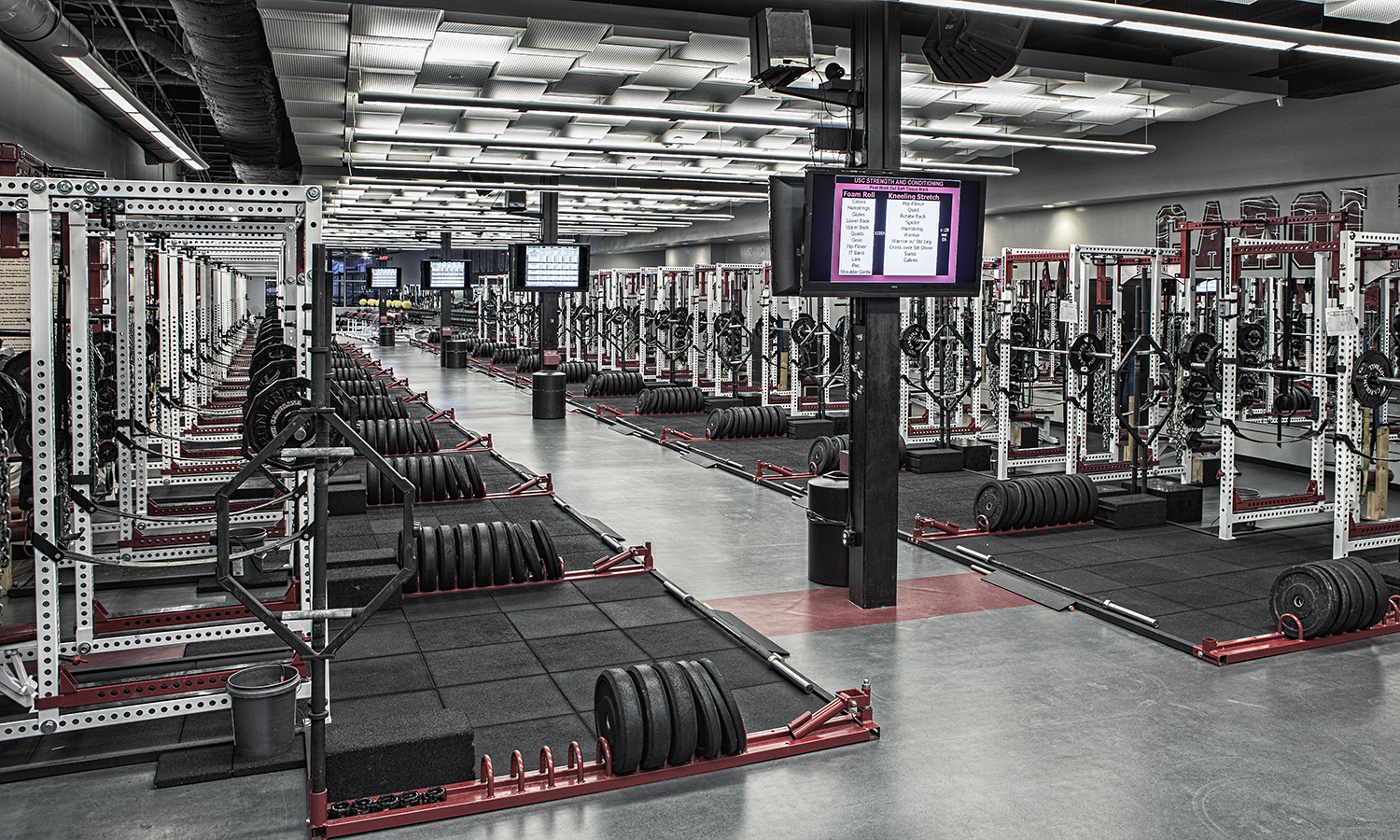 A look inside the SEC\'s weight rooms