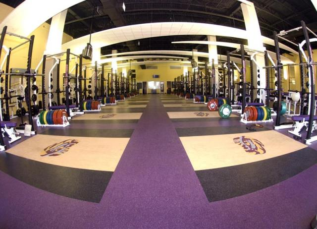 Lsu Visitor Locker Room