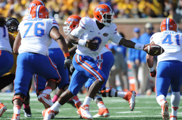 NCAA Football: Florida at Missouri