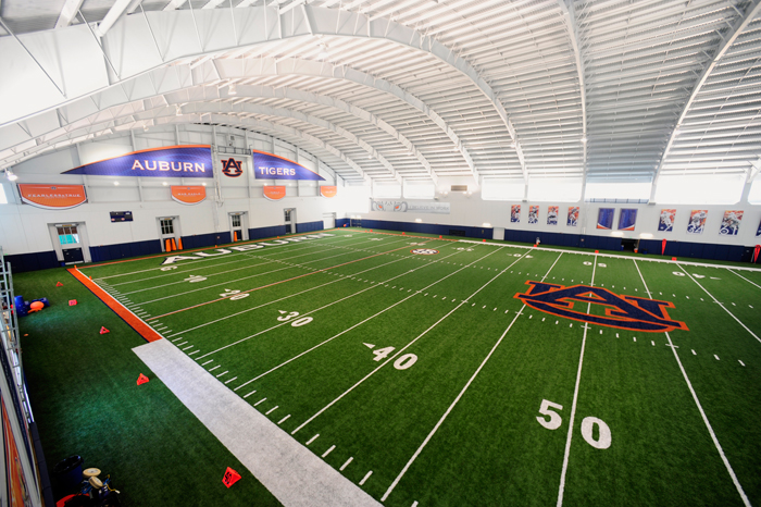 Photos here 39 s what every team 39 s indoor practice facility for Design indoor baseball facility