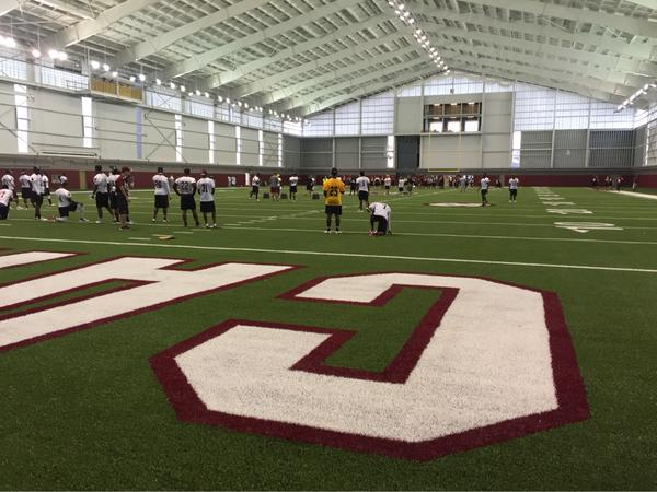 Photos: Here's what every team's indoor practice facility ...