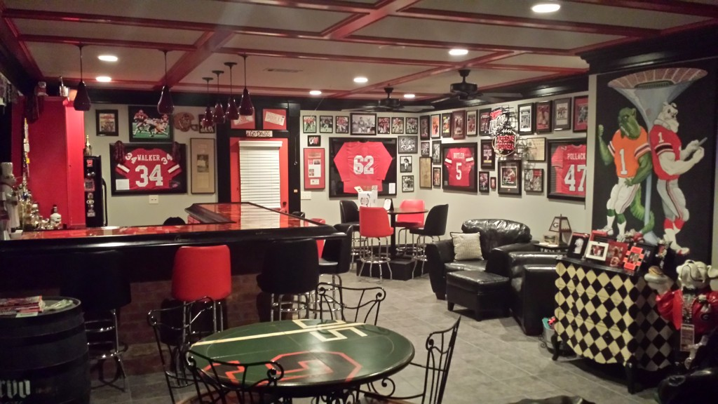 Photos Georgia Fan Creates Ultimate Gameday Experience At