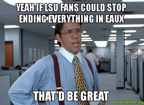 lsu1 the best lsu memes heading into the 2015 season