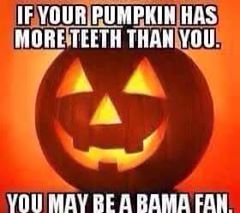 Pumpkin teeth MEME