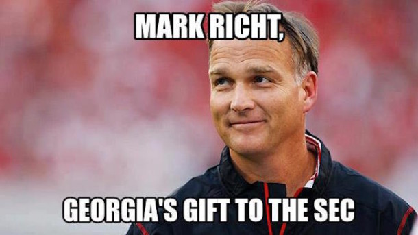 Richt Gift to SEC