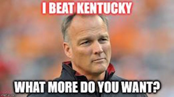 UGA Beat Kentucky MEME