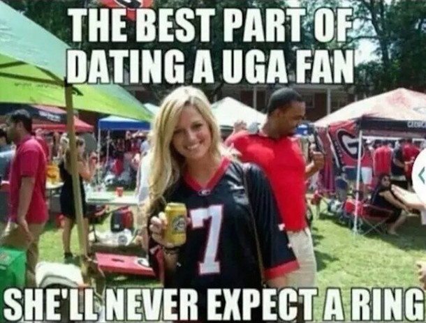 UGA Fans Never Expect Ring MEME