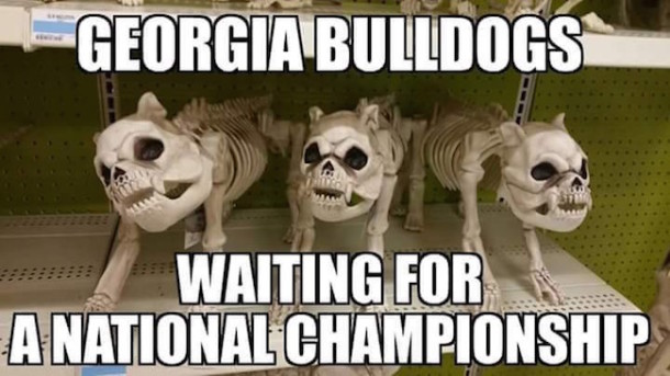 UGA waiting MEME