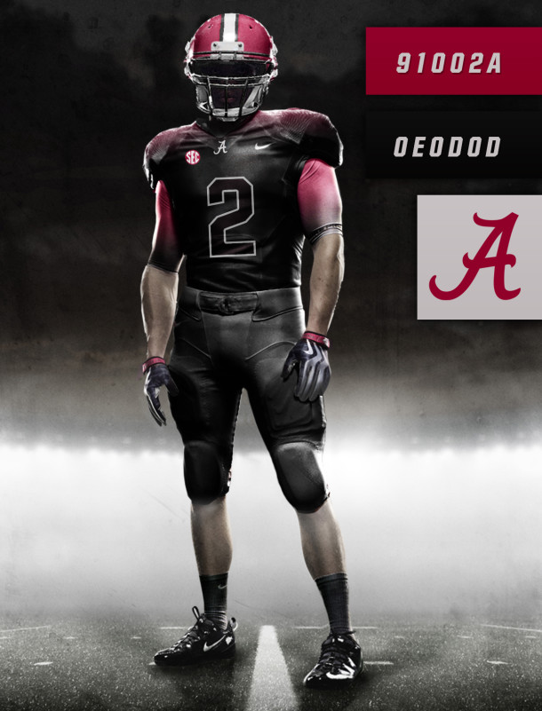 university of alabama jersey football