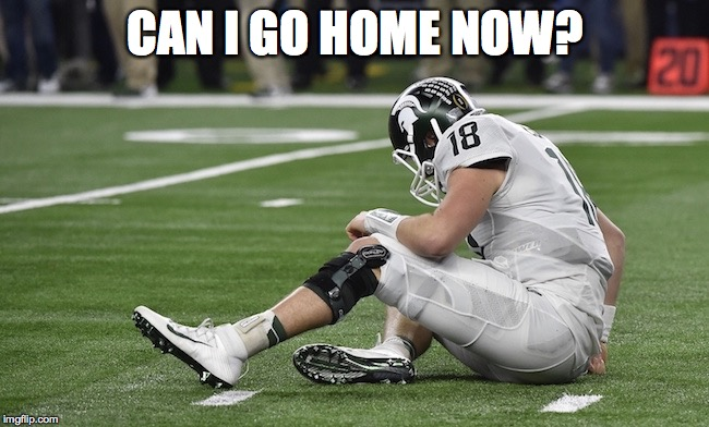 Can I Go Home MEME best alabama vs michigan state football memes from the cotton bowl