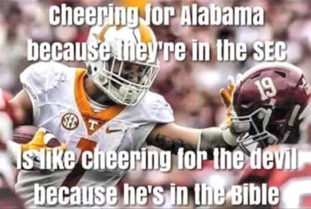 Cheering for Bama SEC