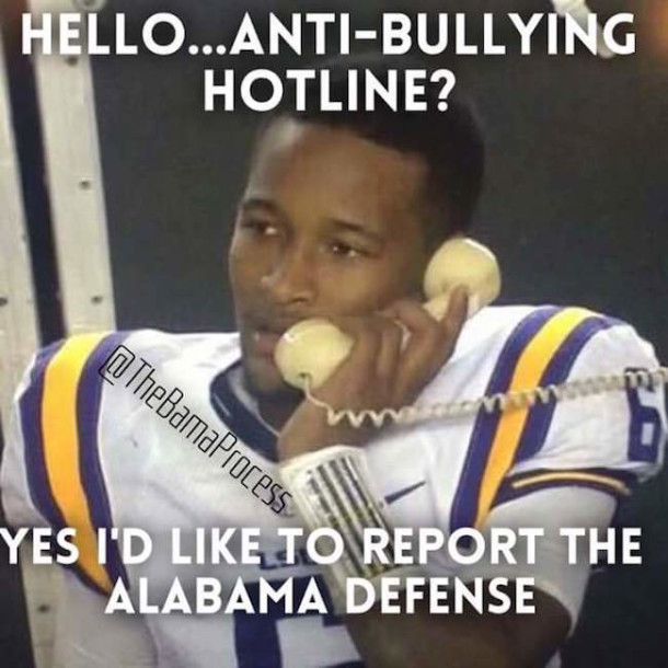 LSU Anti Bullying MEME