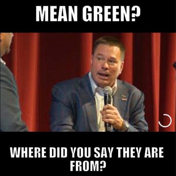 Mean Green MEME