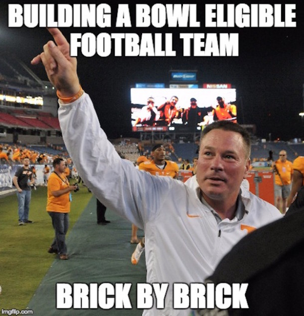 UT Bowl Eligble Team MEME