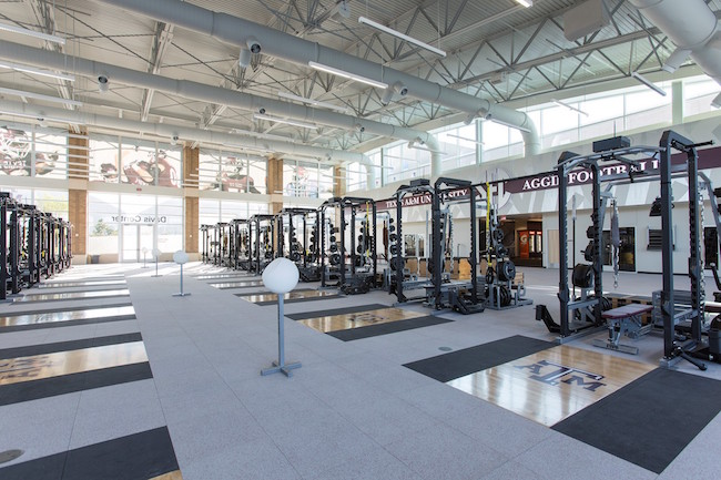 Not All SEC Weight Rooms Are Created Equal - Weight room design