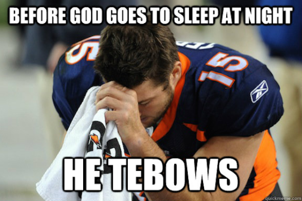 God Tebows MEME