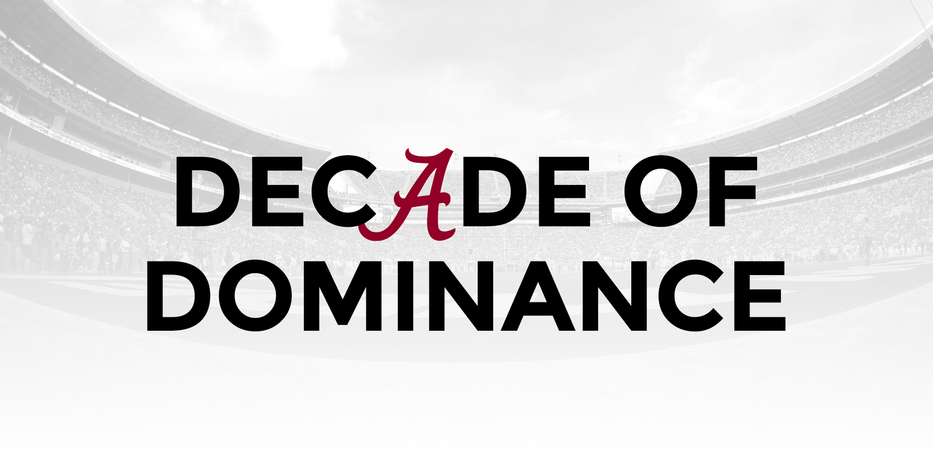 decade of dominance nick saban awoke alabama put rest of sec to sleep