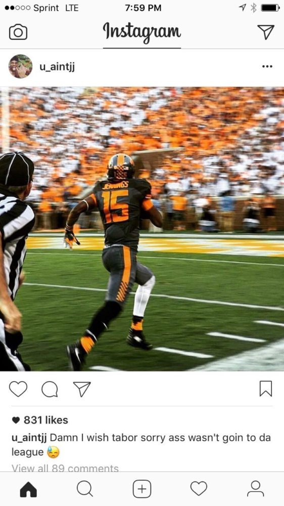 Jauan Jennings Instagram