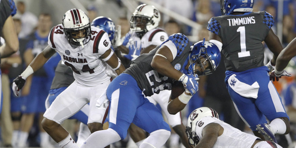 Muschamp: Deebo out for year with broken leg