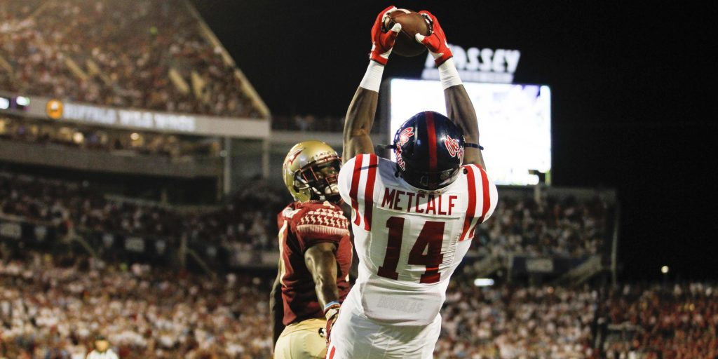 Theres More To Ole Miss Receiver DK Metcalf Than Those