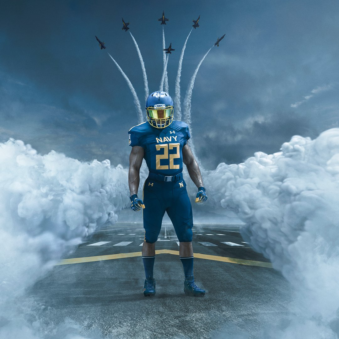 Army Navy Game 2017 Uniforms >> LOOK: Navy unveils unique Blue Angels uniforms for annual battle with Army
