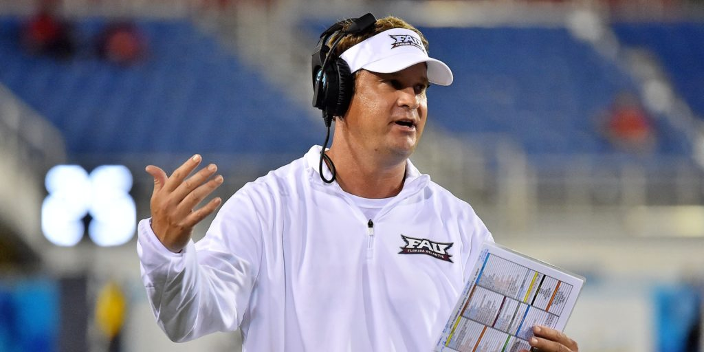 Lane Kiffin agrees to 10-year deal to coach FAU Owls