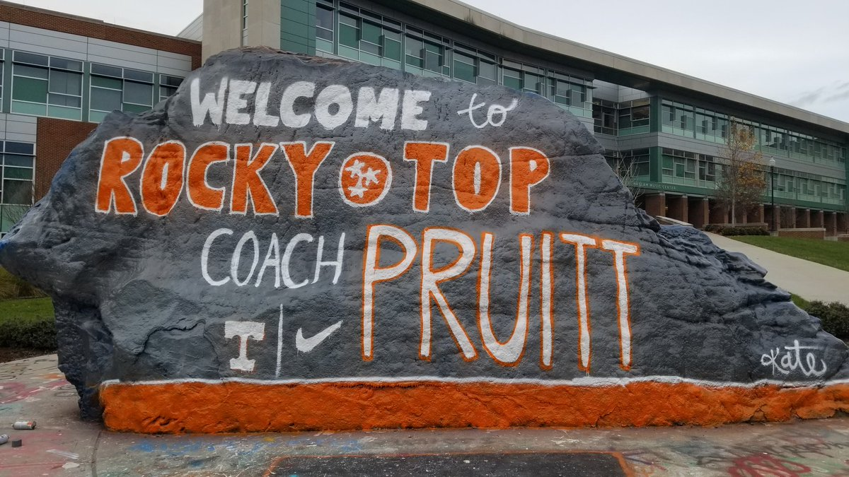 Look The Rock Welcomes Jeremy Pruitt To Tennessee