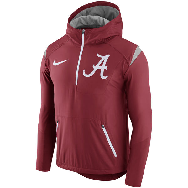 This hoodie features distinctive Alabama Crimson Tide graphics on the left  chest. The front pouch pocket and hood will keep you comfortable and show  your ... 57667eb10