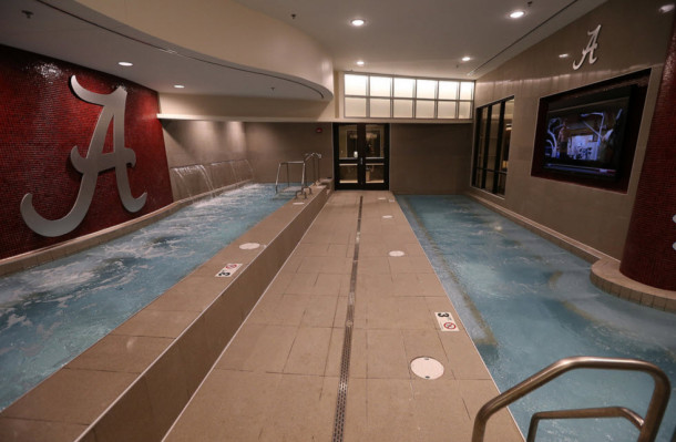 Arms Race The Top Hydrotherapy Pools In College Football