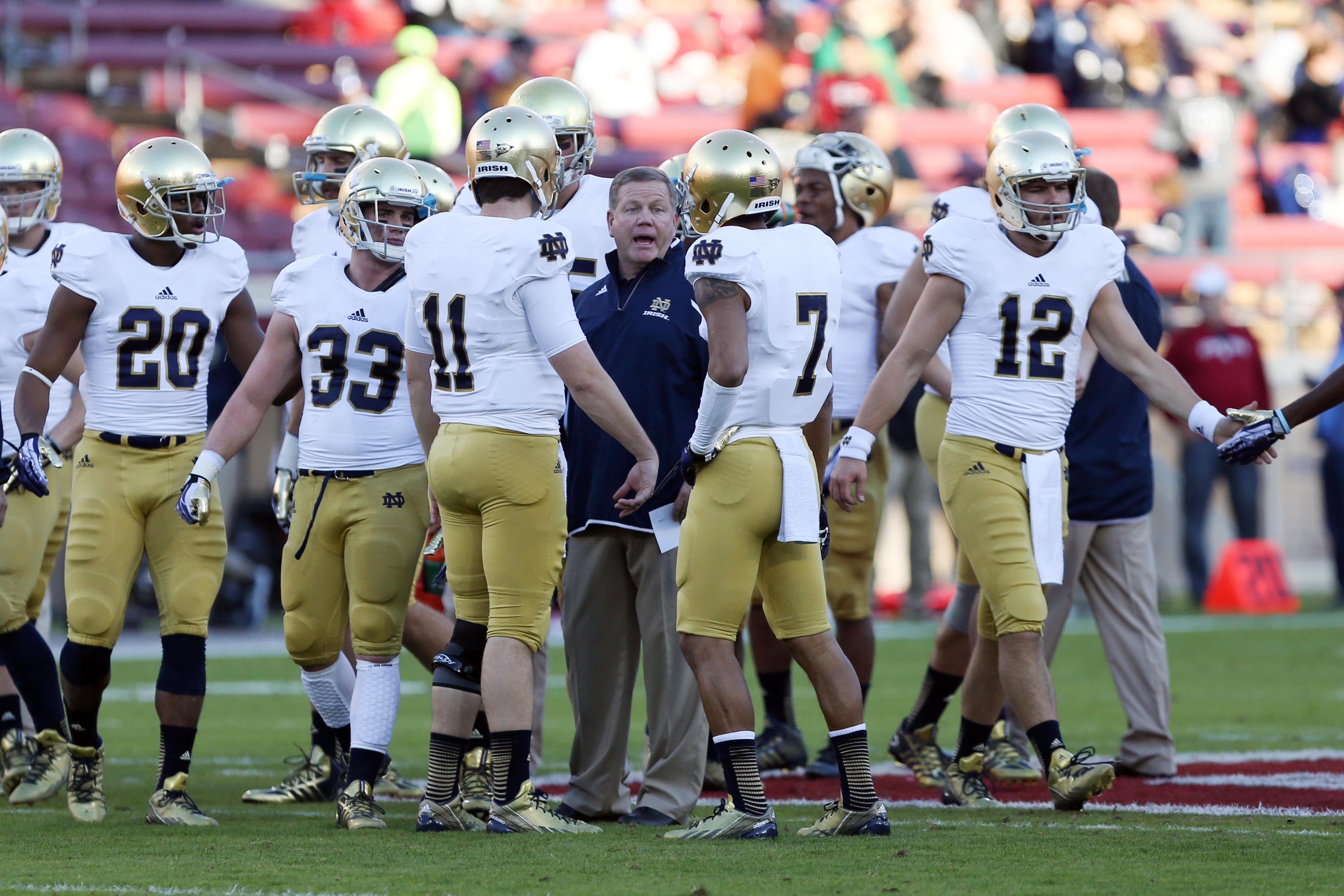 Notre Dame to Citrus Bowl, Purdue plays in Foster Farms Bowl