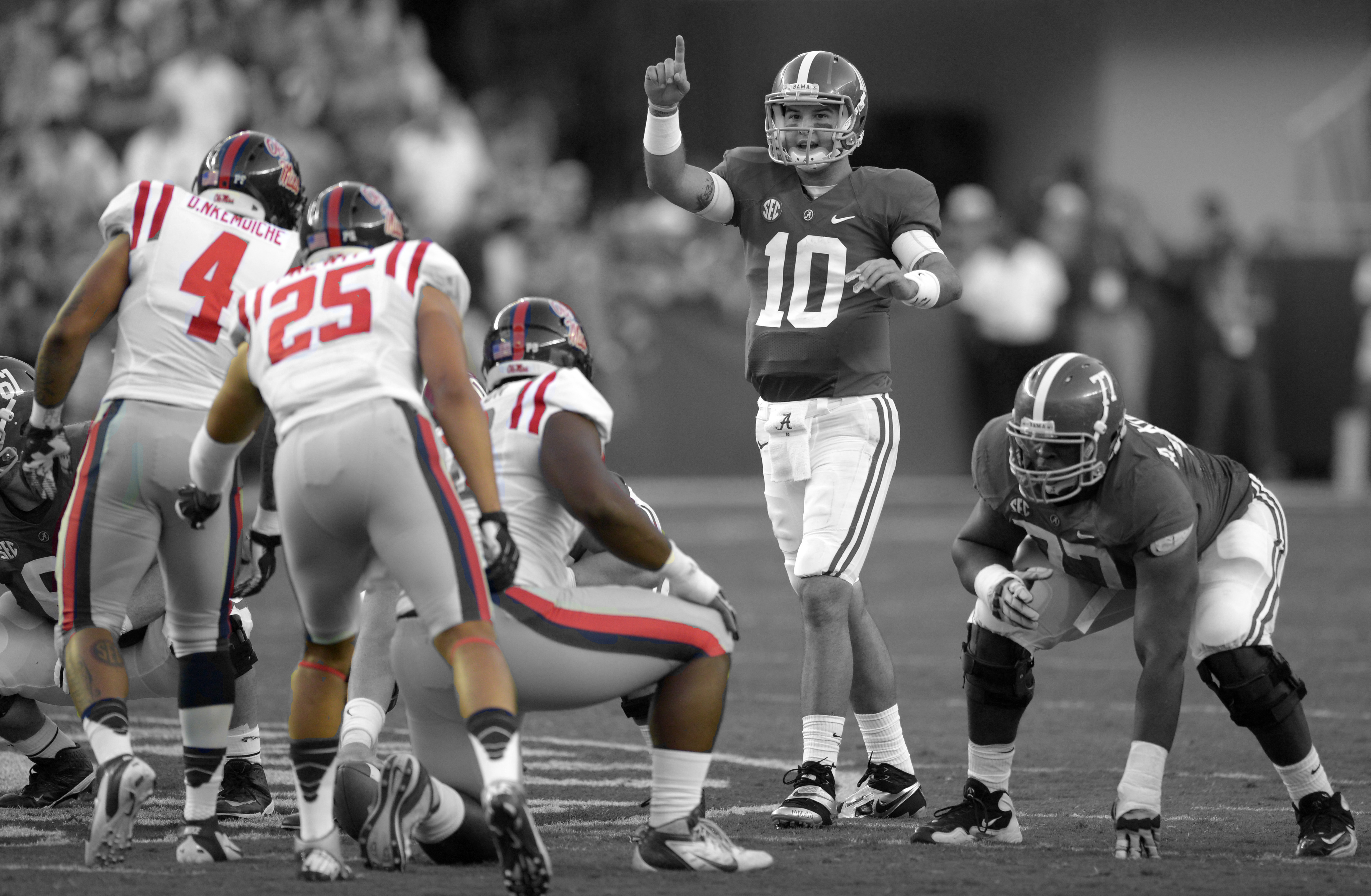 Alabama Starting Lineup >> The Ole Miss Rebels may have the most talented defense in ...