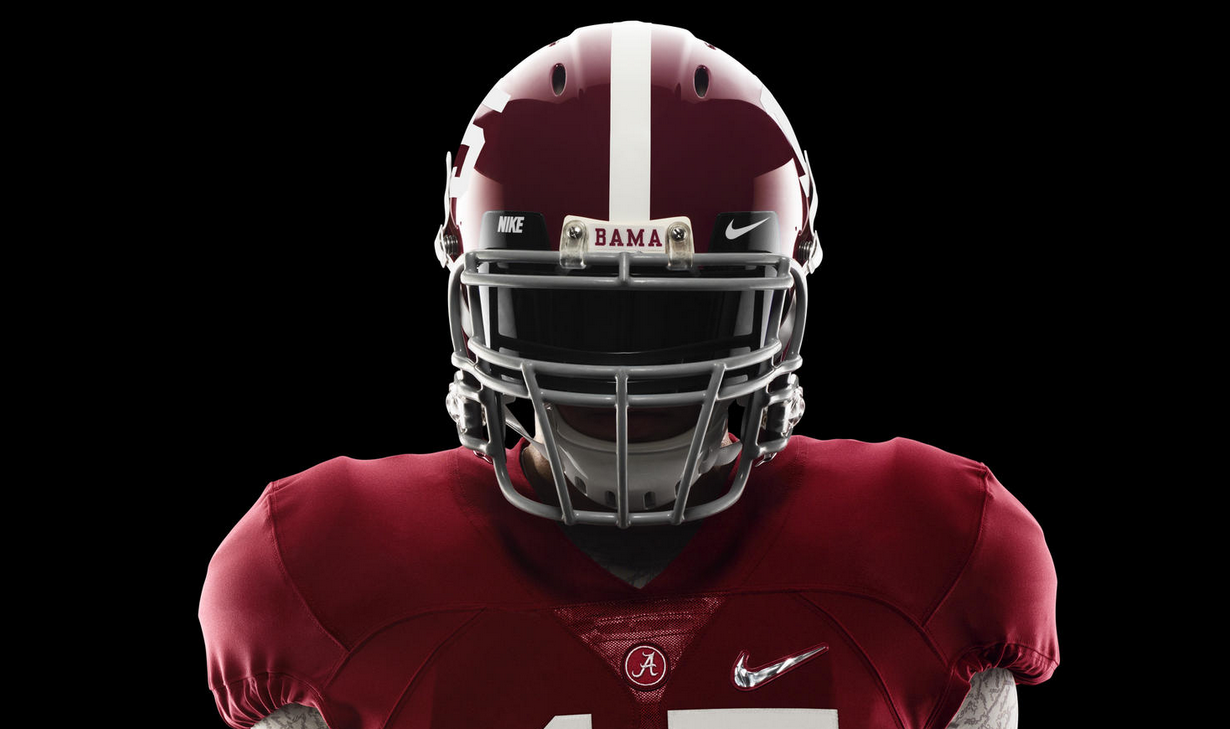 PHOTOS  Nike unveils Alabama s College Football Playoff uniforms 052b87924