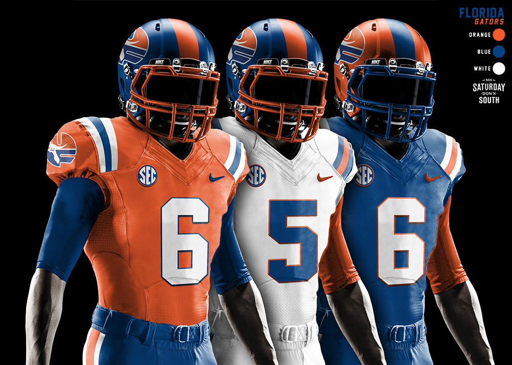 bdc09baadb34 Original uniform concepts for the Florida Gators