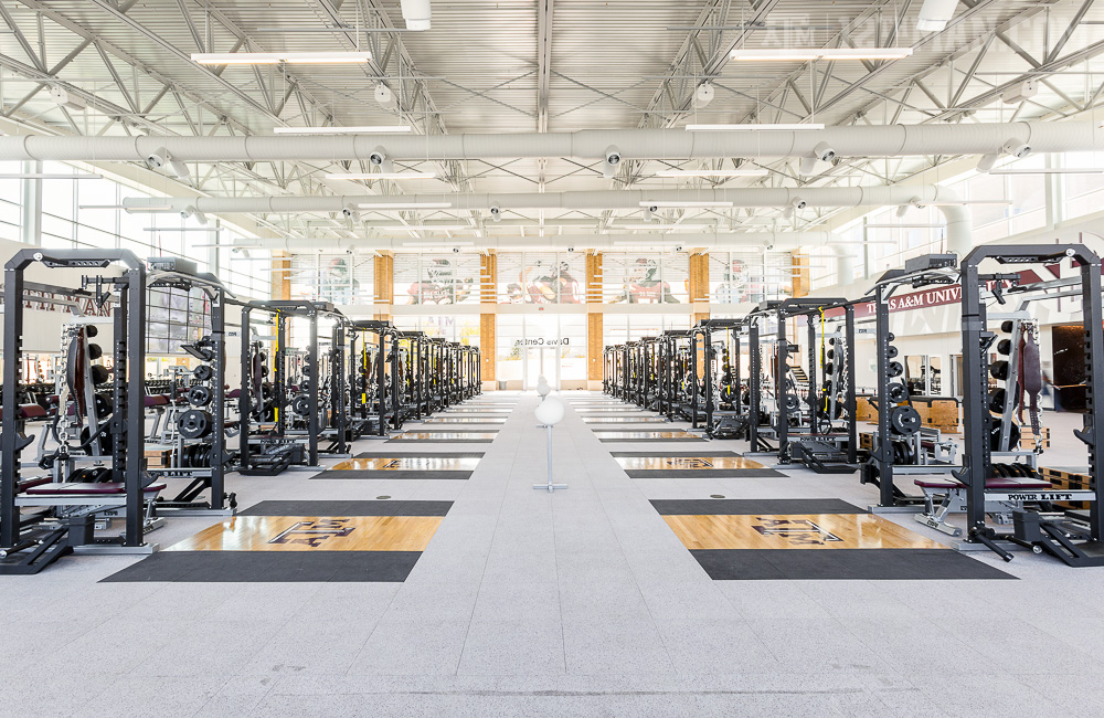 A Look Inside The Sec S Weight Rooms