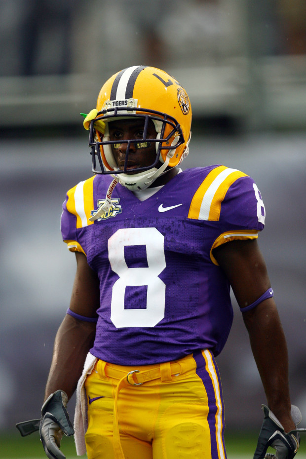 reputable site 9834a 6df7b LSU uniform history