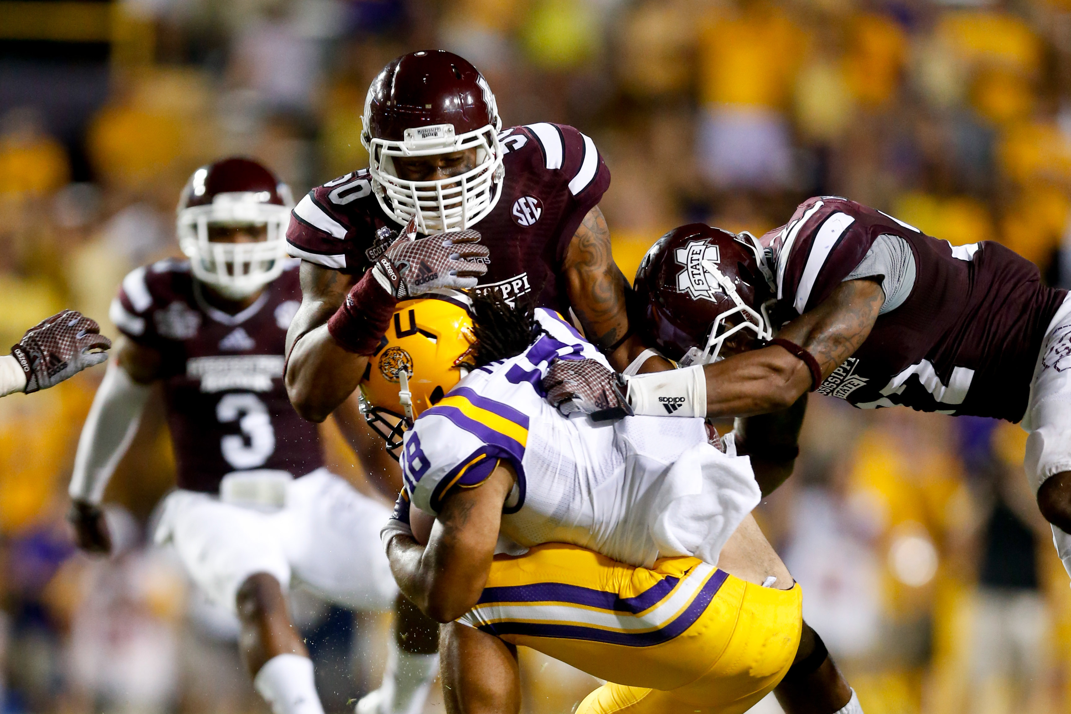 NCAA Football  Mississippi State at Louisiana State 135338c54