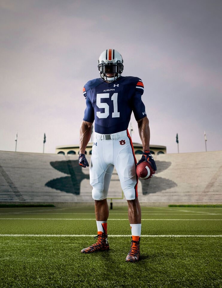 check out 305e6 b1098 Photos: Under Armour touts new Auburn uniforms as 'ungrabbable'