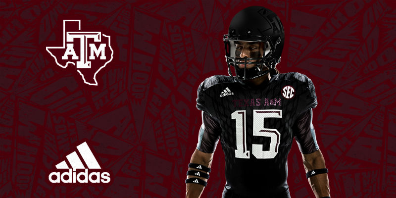 best service 6591d 1ea53 Photos: Adidas unleashes sinister Texas A&M 'Aggie Nights ...