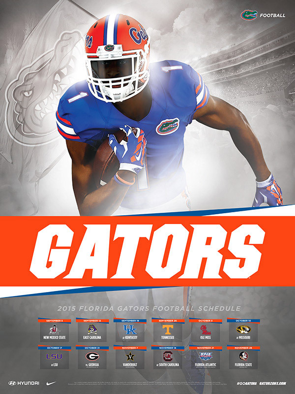 Ranking The 2015 Sec Team Schedule Posters