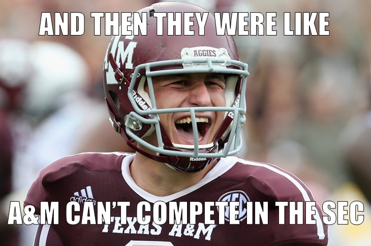 The Best Texas A M Memes Heading Into The 2015 Season