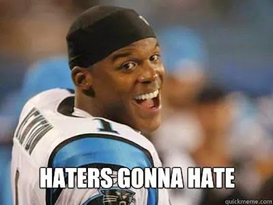 Cam Haters Gonna Hate MEME