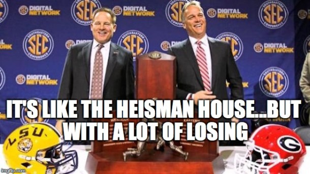 Heisman House Losing MEME
