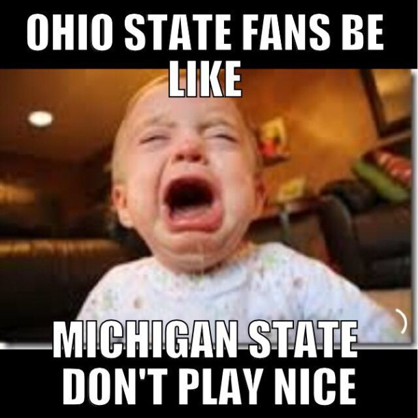 MSU Don't Play Nice MEME