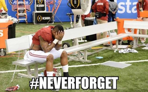 Bama Never Forget MEME