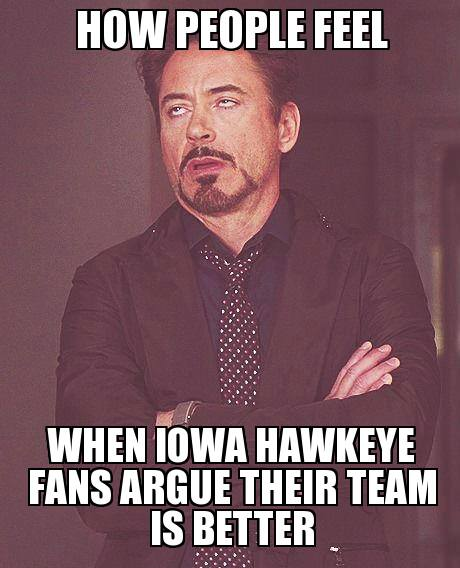 How people feel about Iowa MEME